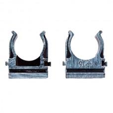 Крепеж-клипса для трубы 16мм  Bironi BTK1-16-11, цвет серебряный век