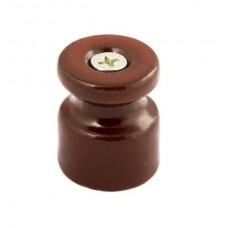 Изолятор кабельный Greenel GE70021-04, цвет коричневый