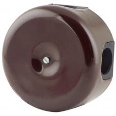 Коробка распаечная Ø78 мм Sun Lumen 061-155-ТК, цвет темно-коричневый