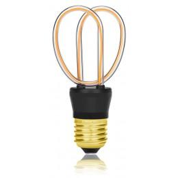 Лампа Эдисона ST64 SF-U Sun Lumen 057-264, прозрачная