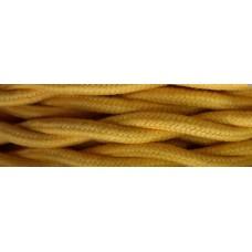 Провод электрический ГОСТ 2х1.5 ФД КерамикЪ PV21509, цвет золотой