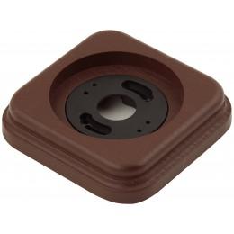 Рамка одноместная наружная ФД КерамикЪ P120-К, цвет коричневый