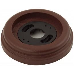 Рамка одноместная наружная ФД КерамикЪ P150-К, цвет коричневый