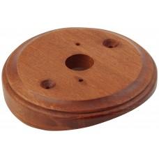 Рамка для распределительной коробки на бревно Lindas 25864, цвет красное дерево