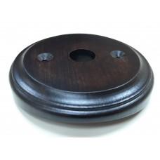Рамка для распределительной коробки на бревно Lindas 25865, цвет венге