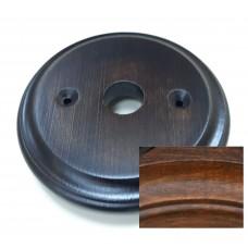 Рамка для распределительной коробки Lindas 25963, цвет орех лакированный