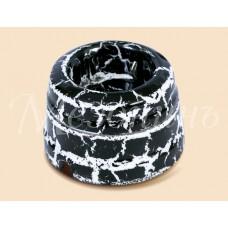 Розетка электрическая Greenel GE70301-62, цвет черный мрамор