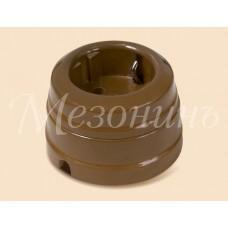Розетка электрическая Greenel GE70301-К, цвет какао