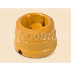 Розетка электрическая Greenel GE70301-32, цвет песочное золото