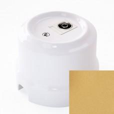 Розетка телевизионная Lindas 325-БМ, цвет бархатная медь