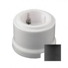 Розетка электрическая Retrika RS-800010, цвет серый