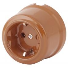 Розетка электрическая Retrika RS-80009-И, цвет ирис