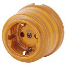 Розетка электрическая Retrika RS-80009-ИБ, цвет императорский бамбук