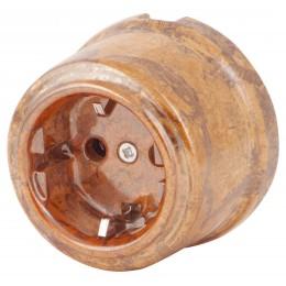Розетка электрическая Retrika RS-80009-Л, цвет лава