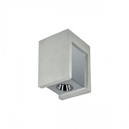 Бра OL1073-GH LOFT IT, цвет бетон/хром