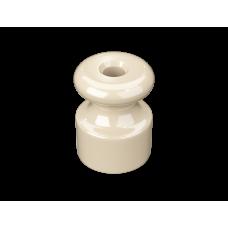 Изолятор пластиковый по 100 шт ТМ МезонинЪ GE30025-02, цвет слоновая кость