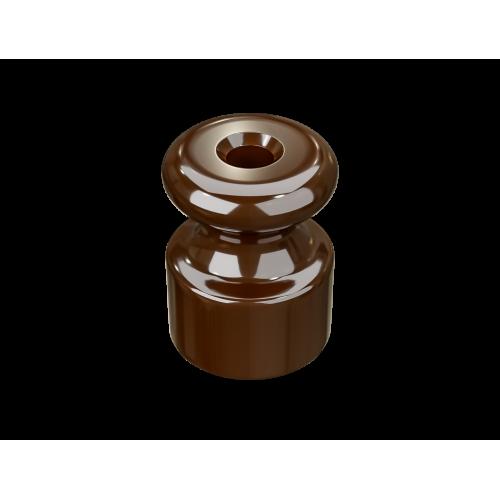 Изолятор пластиковый по 100 шт ТМ МезонинЪ GE30025-04, цвет коричневый