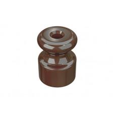 Изолятор пластиковый по 100 шт ТМ МезонинЪ GE30025-70, цвет какао