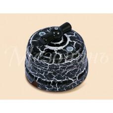 Выключатель 2-х позиционный ТМ МезонинЪ GE70404-62, цвет черный мрамор