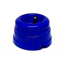 Розетка электрическая Greenel GE70301-08, цвет синий