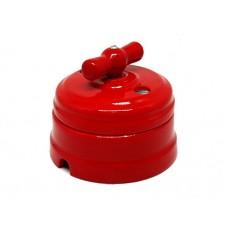 Выключатель 2-х позиционный ТМ МезонинЪ GE70404-06, цвет красный