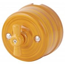 Выключатель 2-х позиционный Retrika R-SW-19-ИБ, цвет императорский бамбук