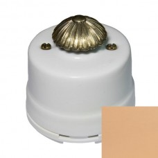 Выключатель диммер Salvador OPDMPC, цвет персиковый