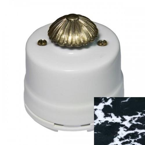 Выключатель диммер Salvador OPDMBLM, цвет черный мрамор