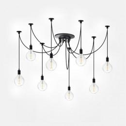 Светильник потолочный S10 Sun Lumen 058-155, цвет черный