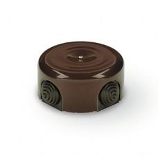 Коробка распаечная Ø78 мм Sun Lumen 061-155, цвет коричневый