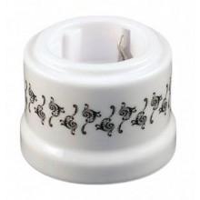 Розетка электрическая Sun Lumen 080-705, цвет орнамент тисаж