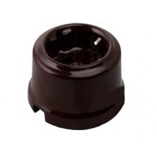 Розетка электрическая Retrika RS-80002, цвет коричневый