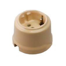 Розетка электрическая Retrika RS-80007, цвет крем