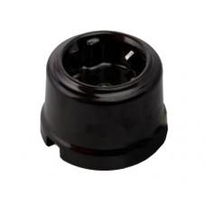 Розетка электрическая Retrika RS-80008, цвет черный