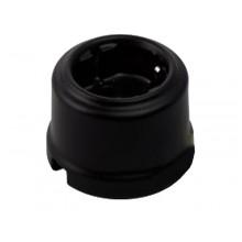 Розетка электрическая Retrika RS-80009, цвет черный матовый