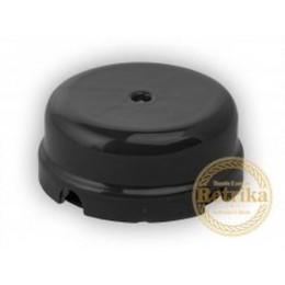 Коробка распаечная Ø78 мм Retrika RR-09012, цвет черный
