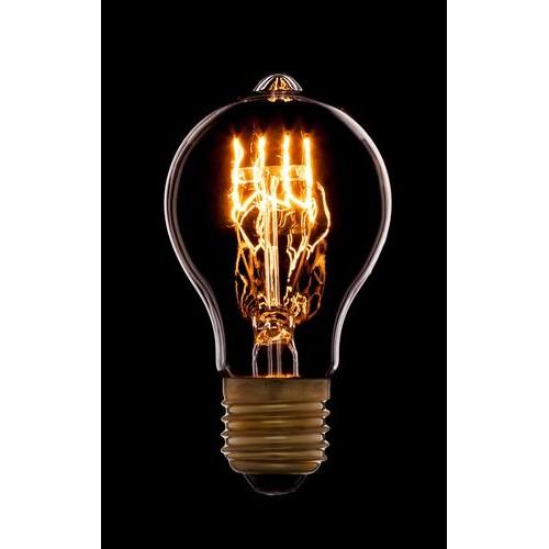 Лампа Эдисона A60 F1 Sun Lumen 051-866, цвет золотой