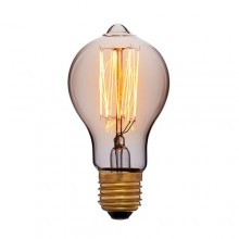 Лампа Эдисона A60 F2 Sun Lumen 051-873, цвет золотой