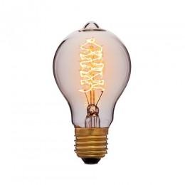 Лампа Эдисона A60 F5 Sun Lumen 053-617, цвет золотой