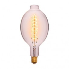 Лампа Эдисона BT180 F5 Sun Lumen 053-839, прозрачная