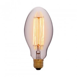 Лампа Эдисона E75 F2 Sun Lumen 052-047, цвет золотой