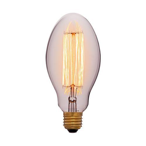 Лампа Эдисона E75 F2 Sun Lumen 053-419, прозрачная