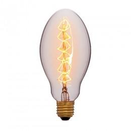 Лампа Эдисона E75 F5 Sun Lumen 053-433, прозрачная