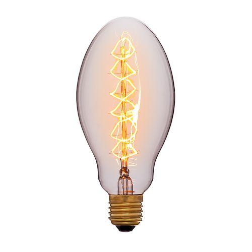 Лампа Эдисона E75 F5 Sun Lumen 052-054, цвет золотой