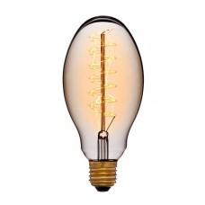 Лампа Эдисона E75 F5+ Sun Lumen 053-686, прозрачная