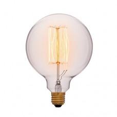 Лампа Эдисона G125 F2 Sun Lumen 052-016, цвет золотой