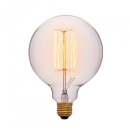 Лампа Эдисона G125 F2 Sun Lumen 054-027, прозрачная