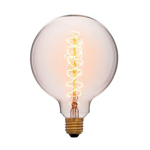 Лампа Эдисона G125 F2 Sun Lumen 053-662, цвет золотой
