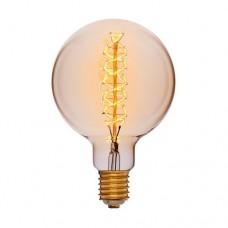 Лампа Эдисона G150 F5 Sun Lumen 052-160, цвет золотой