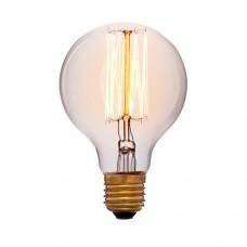 Лампа Эдисона G80 F2 Sun Lumen 051-972а, цвет золотой